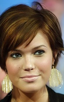 NEW YORK — MAY 27:  (U.S. TABS OUT) Mandy Moore appears on stage